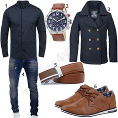 Männer-Outfit mit Hemd, Parka und Business-Sneakern (m0658) #tommyhilfiger #sneaker #jeans #hemd #parka #outfit #style #herrenmode #männermode #fashion #menswear #herren #männer #mode #menstyle #mensfashion #menswear #inspiration #cloth #ootd #herrenoutfit #männeroutfit