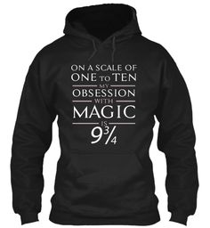 Magic  Funny Hoodie.Limited Edition! Black Sweatshirt Front