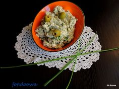 Moje Małe Czarowanie: Pasta z oliwkami i twarogiem