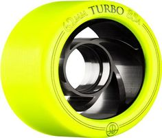 Bones Turbo 62mm Yellow Wheels 8pk $199.00   Bones Turbo 62mm Yellow Wheels 8Pk:  RollerBones Premium speed/ derby wheel with an extruded aluminum hub.  Superior roll and speed. Best wheel on the planet