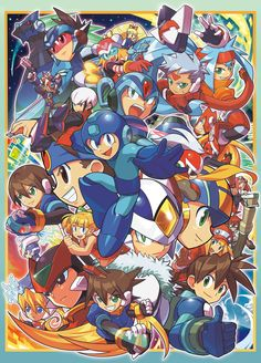 A Truly Fantastic Mega Man Character Piece — The Mega Man Network Mega Man, Dino Crisis, Super Smash Bros, Man Character, Character Design, Street Fighter Alpha Anthology, Video Game Art, Video Games, Megaman Zero