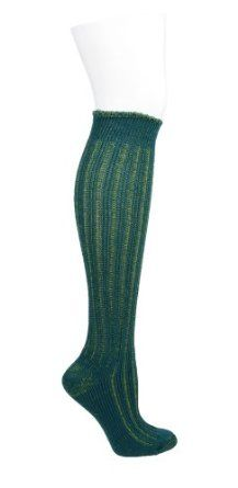 Bootique Slouchy Rib Boot Sock (Spruce) HUE. $9.90