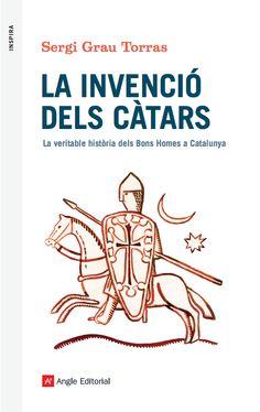Cover illustration for 'La invenció dels càtars', by Sergi Grau. Published by Angle Editorial, 2016.