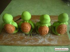 Рецепт: Черепашки-ниндзя