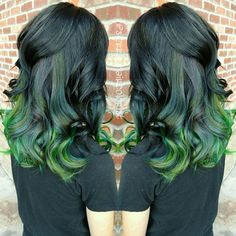 We've gathered our favorite ideas for Black To Emerald And Neon Green Ombre Hair Hair Colors Ideas, Explore our list of popular images of Black To Emerald And Neon Green Ombre Hair Hair Colors Ideas in blue green ombre hair. Black And Green Hair, Neon Green Hair, Ombre Hair Color, Cool Hair Color, Neon Hair, Blue Green, Hair Colour, Bright Hair Colors, Colorful Hair