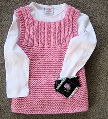 Ravelry: Pinafore Dress 1609 pattern by Extreme Handknits NZ Puppenkleid Pinafore Dress 1609 pattern by Extreme Handknits NZ Baby Cardigan Knitting Pattern Free, Kids Knitting Patterns, Crochet Baby Sweaters, Knitting For Kids, Girls Knitted Dress, Knit Baby Dress, Pinafore Dress Pattern, Baby Dress Patterns, Couture