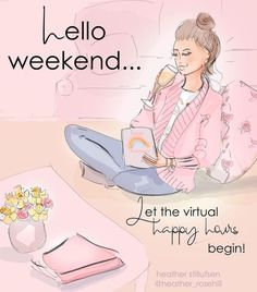 Hello Weekend Friday The 13th Funny, Friday Happy Hour, Happy Friday Quotes, Friday Pictures, Happy Pictures, Good Morning Funny, Morning Humor, Happy Quotes Inspirational, Think Happy Thoughts
