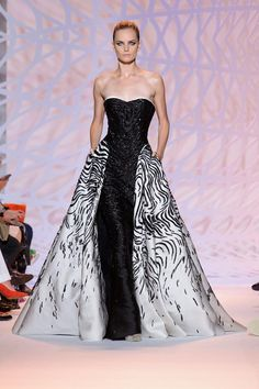 Zuhair Murad Haute Couture Fall 2014 — Куклы, я и все,все, все