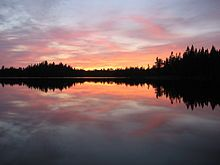 The Boundary Waters Canoe Area in Minnesota is undisturbed wilderness...peaceful and beautiful.