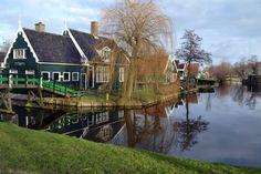 Houten Zaanse Huizen Nederland
