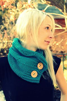 Upcycled Knit Sweater Cowl