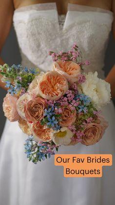 Spring Flower Bouquet, Pastel Bouquet, Flower Bouquet Wedding, Spring Wedding Bouquets, Boquet, Pastel Flowers, Wedding Flower Arrangements, Table Arrangements, Wedding Wows