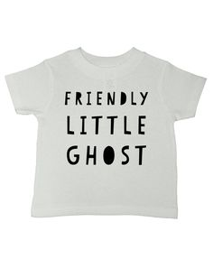 3d17e886 Friendly Little Ghost Halloween T-Shirt preshrunk cotton Ghost Shirt  Toddler Halloween Shirt Cute Halloween T Shirt Boys Halloween Kids Halloween