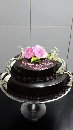 Dutch Truffle wedding cake