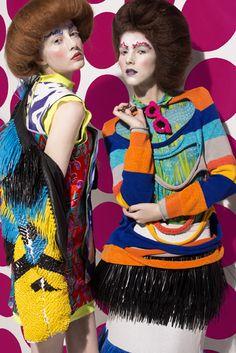 Beautiful stripes, beautiful spots, wild styling!