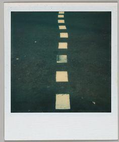 Walker Evans - Lane Divider (1973)