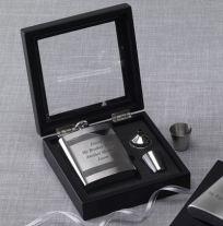 Glass Box Flask Set