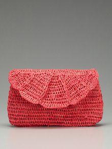 Crochet Clutch Idea  @Amanda Snelson Snelson Snelson Snelson Snelson Bastar I'd also like this (: