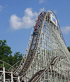The Comet-Six Flags The Great Escape