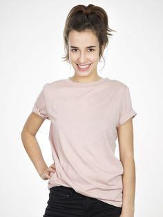 SFMY PERFECT TEE in Rose by Selected Femme