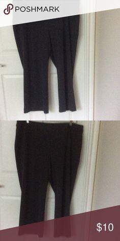 Lane Bryant, plus size pants Plus size 22 gray stretch pants Lane Bryant Pants Straight Leg