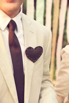Heart boutineers