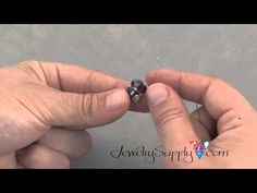 How to create Pinch-Bead Beads - YouTube