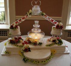 Wilton Wedding Cakes | Wilton+wedding+cakes+with+fountains