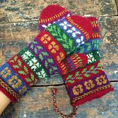 Ravelry: Annepaalandet's northern voices Source by pirjosalo Mittens Pattern, Knit Mittens, Knitted Gloves, Fingerless Gloves, Easy Yarn Crafts, Fair Isle Knitting Patterns, Hand Warmers, Ravelry, Knit Crochet