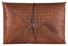 Newman Gridline Laptop Case, Whiskey