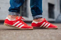 adidas Originals Hamburg: Red