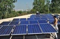 APSRTC proposes to install solar plants at 105 depots across the State. The Rs. 85.11-crore project is taken up on RESCO (Renewable Energy Service Company) model wherein the investments is being made by MNRE and APSRTC will pay for the solar power generated in the project.    http://www.thehindu.com/news/cities/Hyderabad/apsrtc-inaugurates-solar-plant-at-hcu-bus-depot/article4249133.ece