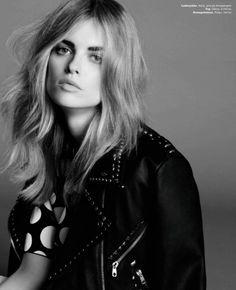 Sophie Holmes by Tesh for Elle Denmark January 2013