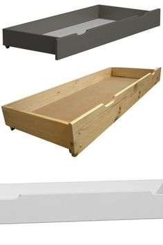 💡 Don't waste your under bed space - use it for storage❗ #storagespace #drawer #bedroom #furniture #pinewood #solidwood