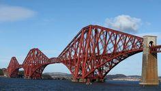 Die Forth Bridge in Schottland