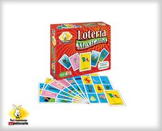 Un juego donde podrán conocer nuestras tradiciones y al mismo tiempo tendrán horas de diversión.  No. de Jugadores: 2 a 8 Edad: 4 a 99 años Contenido: 8 tableros y 54 naipes de lotería.