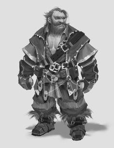 another dwarf... , Zhen Chen on ArtStation at https://www.artstation.com/artwork/z5OeL