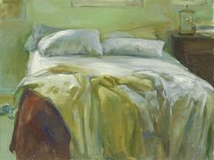 """Marc Whitney """"Brown & Yellow Blanket"""""""