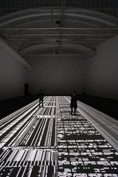 Ryoji Ikeda puzzles with projectiondesign - projectiondesign - high performance projectors