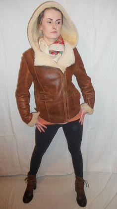 Items similar to Amazing Womens Sheepskin/Leather Jacket on Etsy Red Leather, Leather Jacket, I Shop, Trending Outfits, Unique Jewelry, Amazing, Jackets, Etsy, Shopping