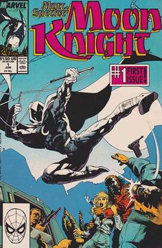 Marc Spector: Moon Knight #1 Jun '89 Mark Spector returns to his old mansion in New York City to pick up where he left off. The Bushman (General Bushman) tracks him down and kidnaps his old love interest, Marlene Alraune.