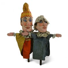 Home » Props » Toys & Games » Punch & Judy Puppets
