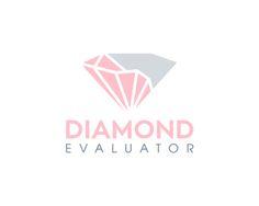 diamond evaluator Logo design - Great logo suitable for diamond valuations. Price $300.00