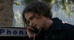 Matthew Gray Gubler as Dr. Spencer Reid on Criminal Minds S08E12 Zugzwang Spencer and Maeve TAR 2