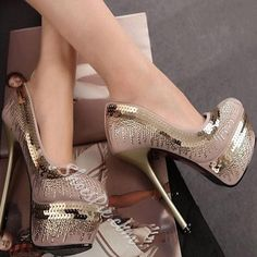 New Arrival Round Toe Glitter Decoration Metal Heel Shoes :https://store.shoes/heels/pumps/new-arrival-round-toe-glitter-decoration-metal-heel-shoes/