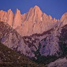 Mt Whitney - California