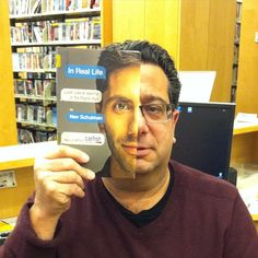 #bookfacefriday | ... bookfacefriday #syosset #syossetlibrary #nevschulman #inreallife #