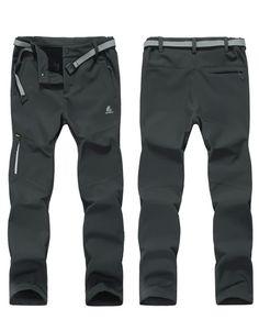 womens-hiking-pants-fleece-lining-waterproof-strectable-soft-shell-pants-3