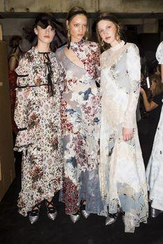 Erdem Spring 2017 Ready-to-Wear Fashion Show Beauty