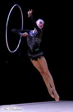 Maria Titova, Russia, #rhythmic_gymnastics, flying